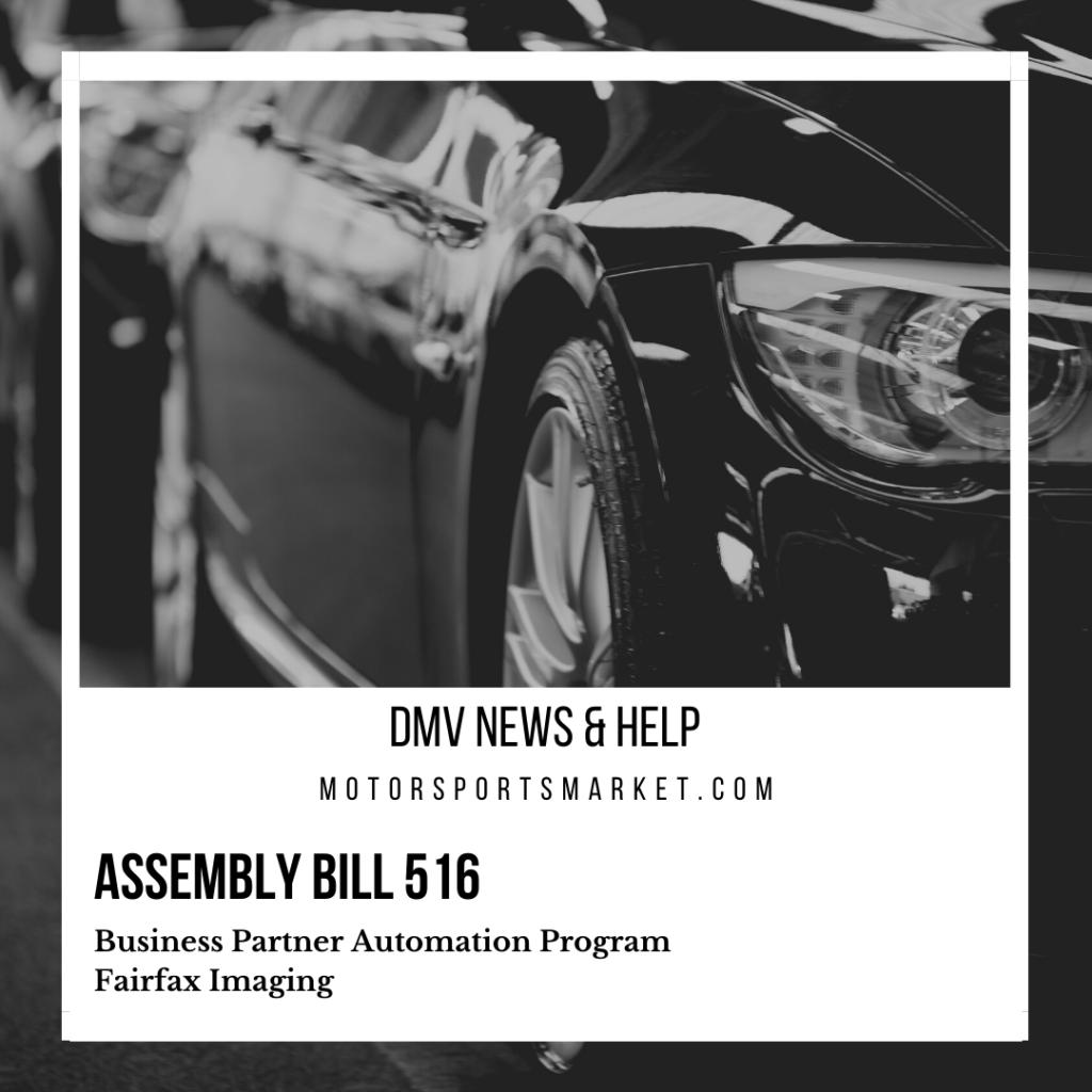 Assembly Bill 516