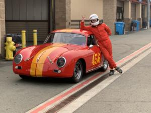 Gunnar and the Porsche friday morning